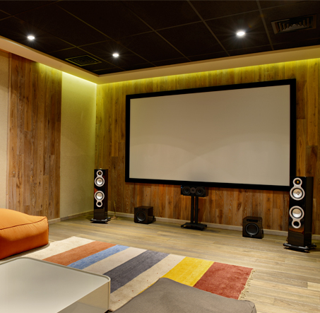 installation equipements audio et video